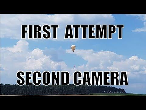 Balloon Launch - Failed Attempt - Camera B