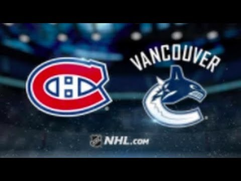 Montreal Canadiens vs Vancouver Canucks – Nov. 17, 2018 | Game Highlights | NHL 2018