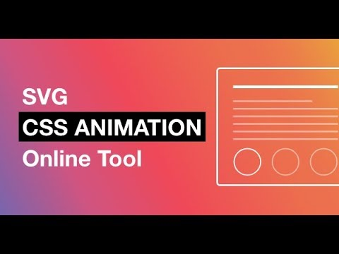 CC SVG Animation using Vivus instant Tool