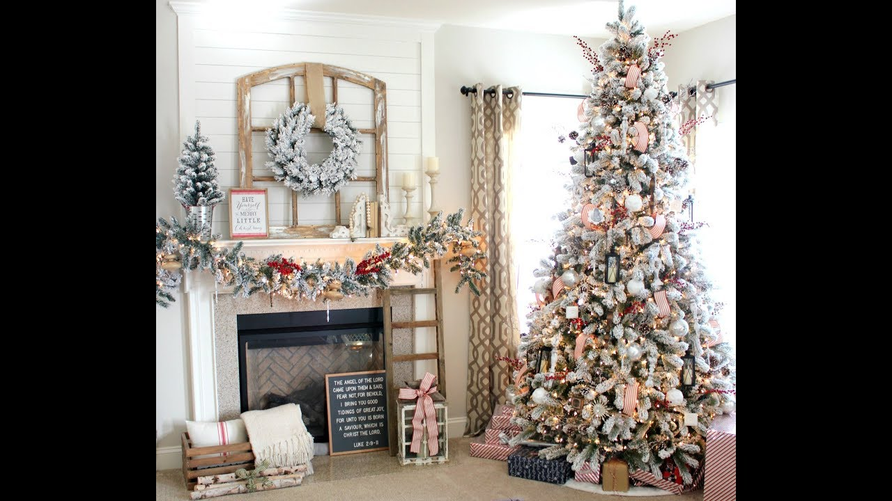 Christmas Home Decor.Christmas House Tour 2017 Christmas Home Decor