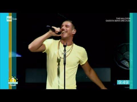 Il concerto romano di Francesco Gabbani - Unomattina Estate 18/07/2017
