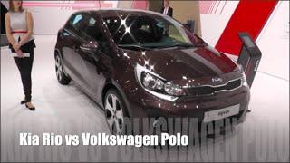 Video Kia Rio 2015 vs Volkswagen Polo 2015 download MP3, 3GP, MP4, WEBM, AVI, FLV April 2018