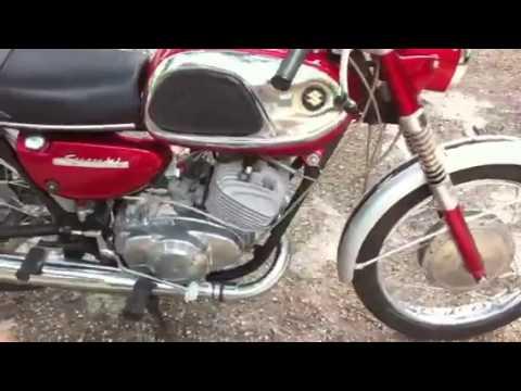 1967 Suzuki Hustler running