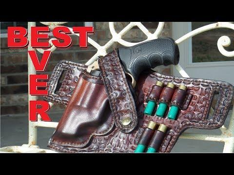 🔫 Custom Leather Pistol Holster