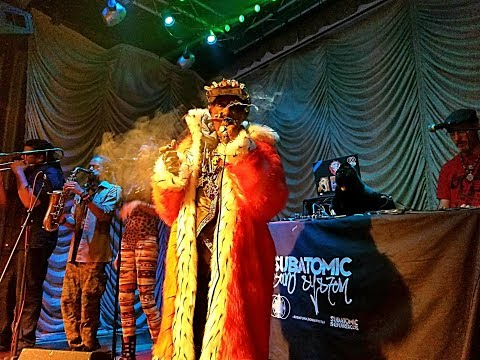 Lee Scratch Perry + Subatomic Sound System - Full Concert