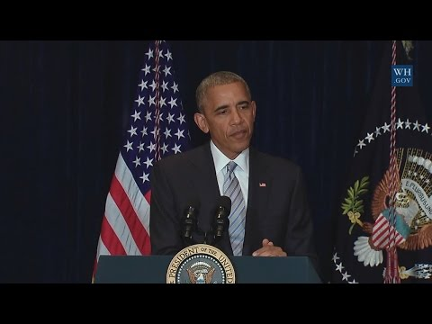 President Obama on the fatal shootings of Alton Sterling and Philando Castile
