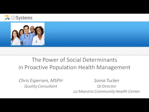 The Power of Social Determinants in Proactive Population Health Management