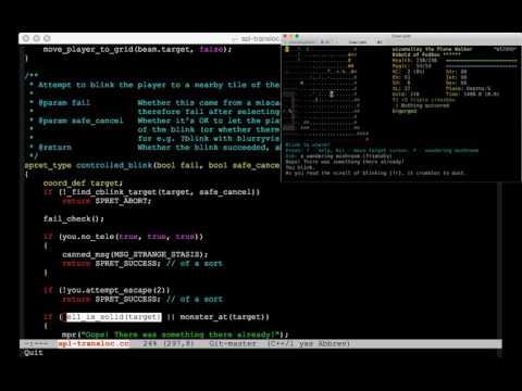Bonus video: coding a change to cblink targeting