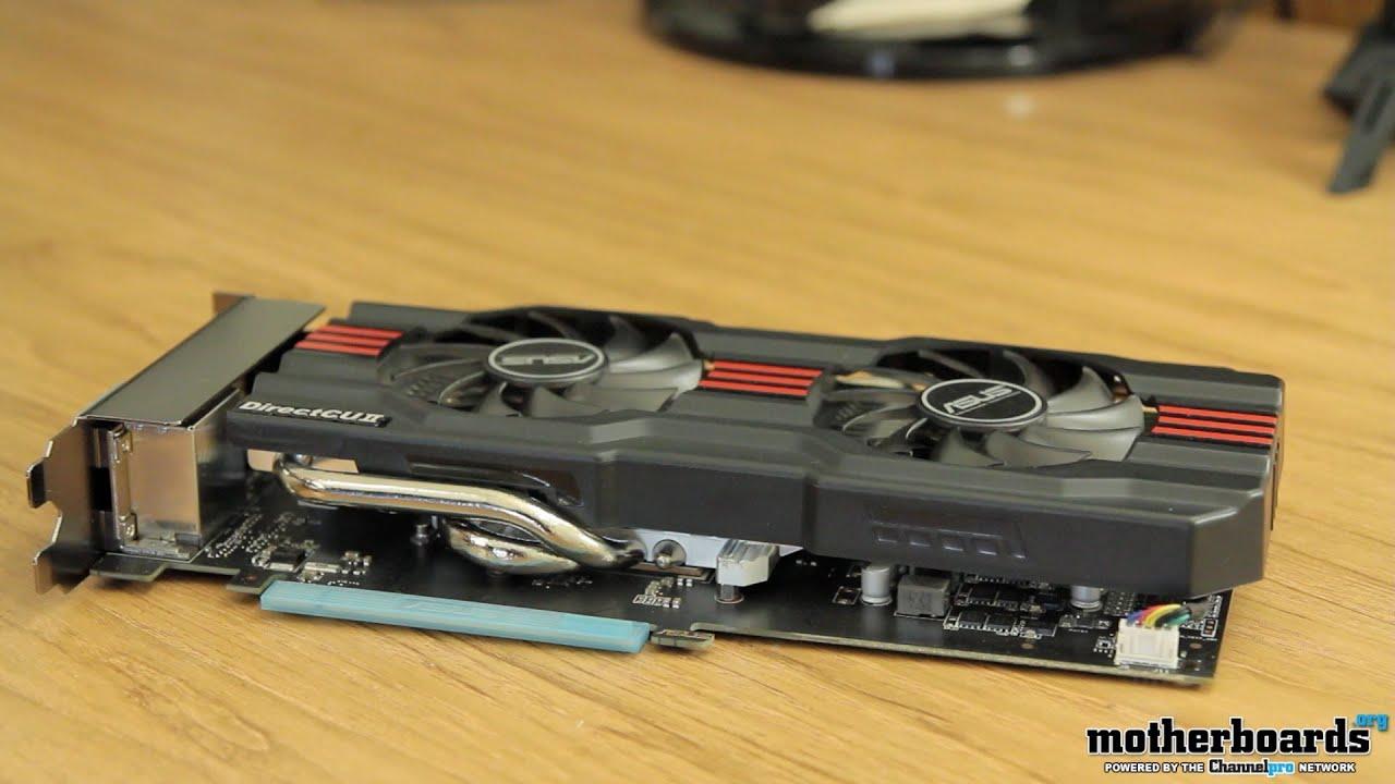 Asus nvidia geforce gtx 660 directcu ii oc 2gb gddr5 graphics card.