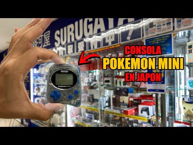🕹️ La Consola de cartuchos MAS PEQUEÑA DEL MUNDO? en JAPON|  POKEMON MINI | VIDEOJUEGOS | NINTENDO