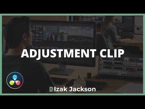A Brilliant Tool For Color Grading - Davinci Resolve Adjustment Clip