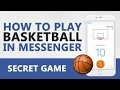 How to Play Basketball Hoops Game in Facebook Messenger?
