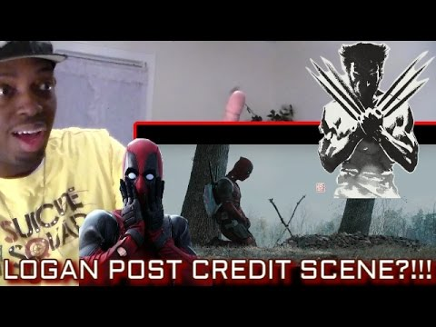 What if LOGAN had a POST-CREDIT SCENE? Featuring DEADPOOL (*spoilers*) Fan-Made REACTION!!!