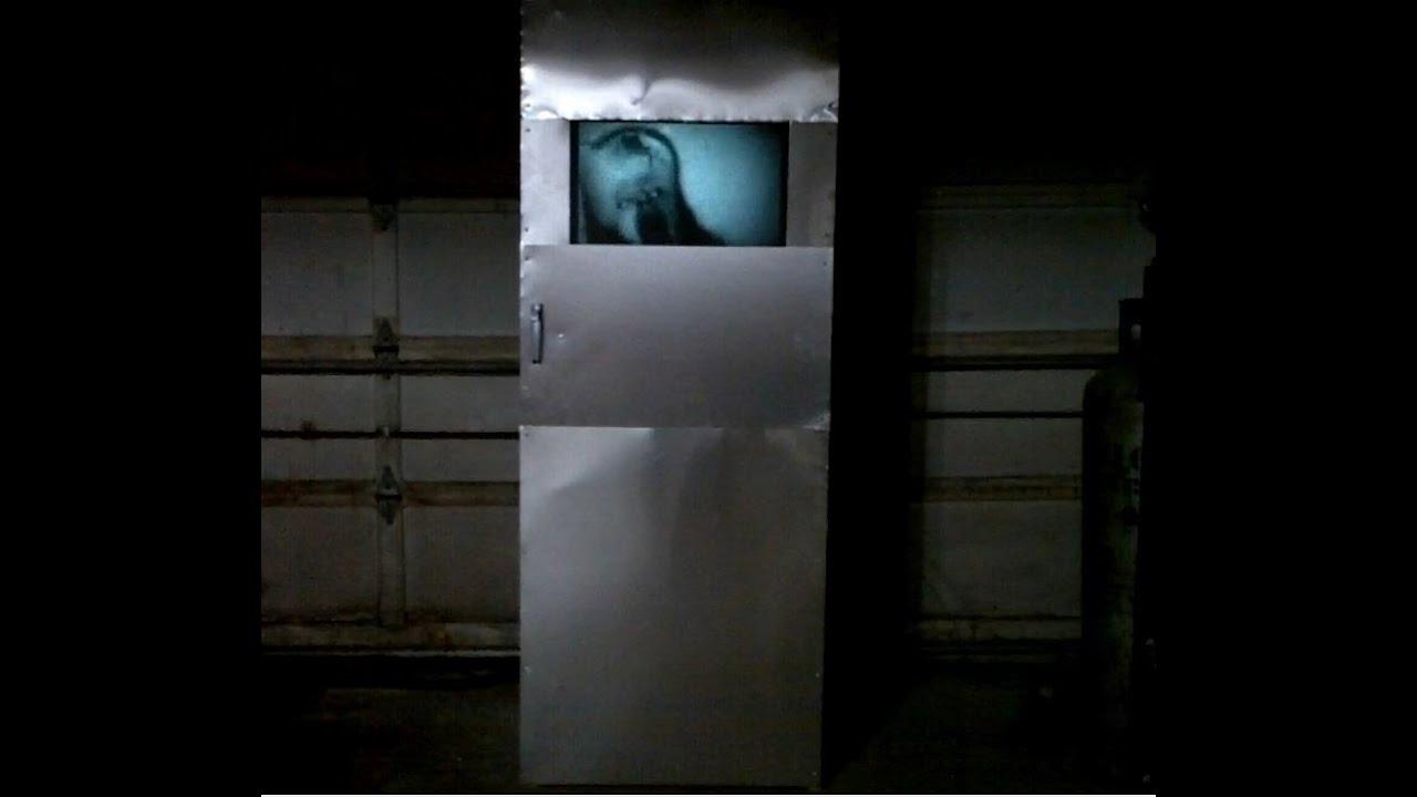 Raspberry Pi Halloween Effects Door - aka the  Scary Door  - 2013 - YouTube & Raspberry Pi Halloween Effects Door - aka the