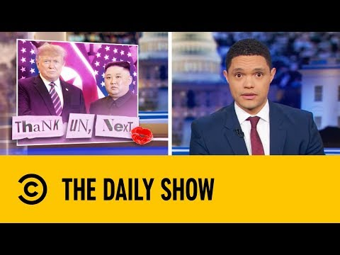 Have Donald Trump And Kim Jong Un Fallen Out Of Love? | The Daily Show with Trevor Noah