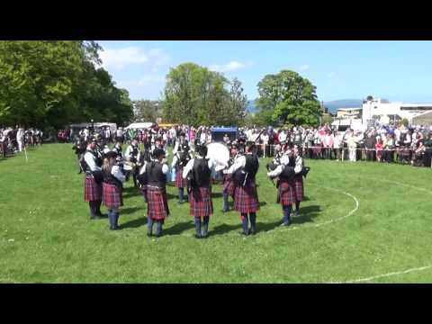Clontibret Pipe Band @ Ards & North Down Pipe Band Championships 2016