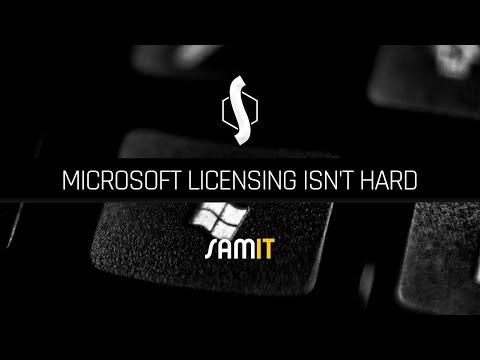 Microsoft Licensing Isn't Hard