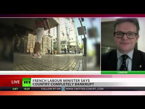 'End Of Euro Inevitable'  Bankrupt, France Crisis, Economic Crisis, 54 Billion Euro