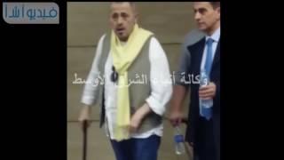 بالفيديو :لحظة وصول جورج وسوف لمطار القاهرة