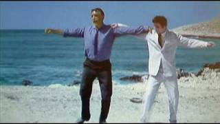 Zorba's Dance in colour version 2 from the film Zorba the Greek