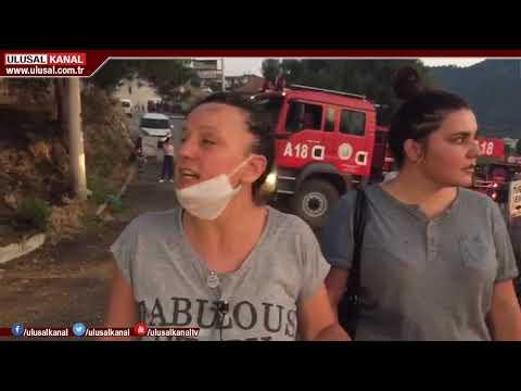 İzmir Balçova'da yangın: Bölge sakinleri tepkili