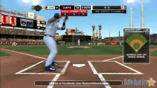 MLB 2K11 - MLB Today Sept. 15th, 2011 - Chicago Cubs at Cincinnati Reds - 1st Inning