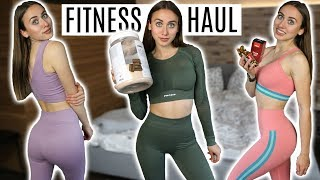 XXL Fitness Haul mit Supplements, Sportoutfits, Proteine,... | Prozis Unboxing