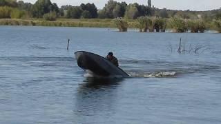 Рибоохоронний патруль в Тетієві. Охота на браконьєрів.