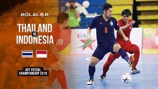 Kalah di Final! Thailand (5) vs (0) Indonesia - AFF Futsal Championship 2019
