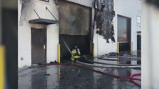 SWFD Puts Out Storage Unit Blaze