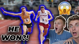 REACTING TO THE BEST KICKS/COMEBACKS IN TRACK HISTORY w/ Ryan Trahan