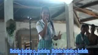flavya estudante colegio sao miguel dili timor leste