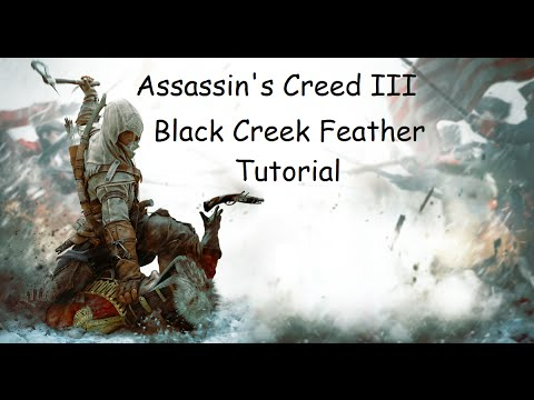 Assassin's Creed 3 Frontier Hardest Black Creek Feather Walkthrough