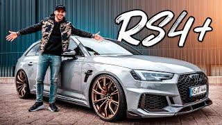ABT Audi RS4+ | 530PS & goldene Felgen! | Daniel Abt