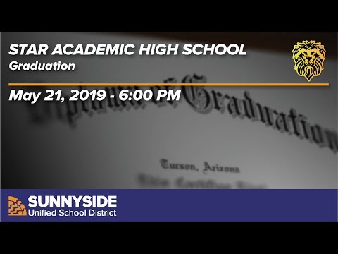 Star Academic High School Graduation - 2019 - 6:00pm