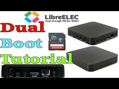 MXQ S805 - LIBREELEC 8 BOOT FROM SD CARD TUTORIAL - KODI 17.1 KRYPTON -  AMLOGIC PORT