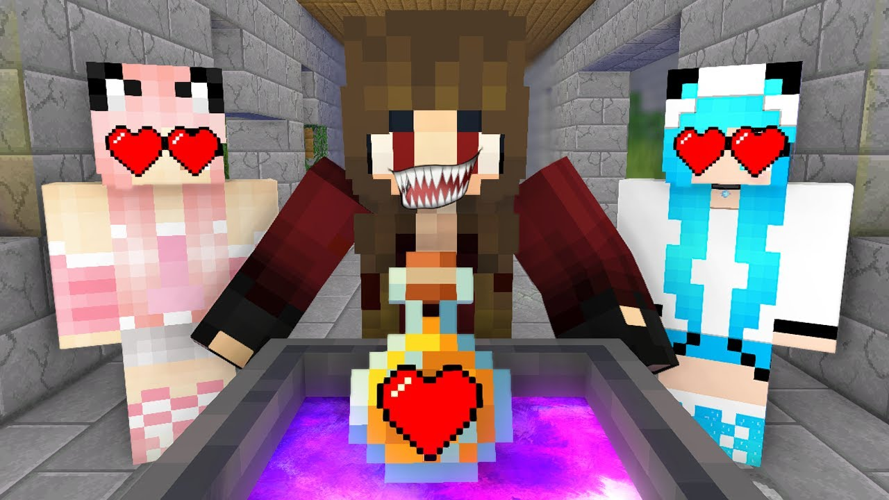 Monster School : BABY MONSTERS LOVE CURSE CHALLENGE ALL EPISODE - Minecraft Animation