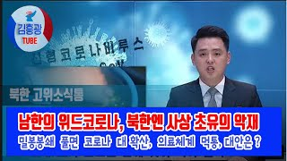 남한의 위드코로나 , …