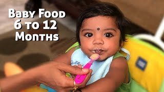 Lunch Ideas for Babies | Baby Food Recipes for 6 to12 Months | BabyFood Ideas | Weight Gain BabyFood