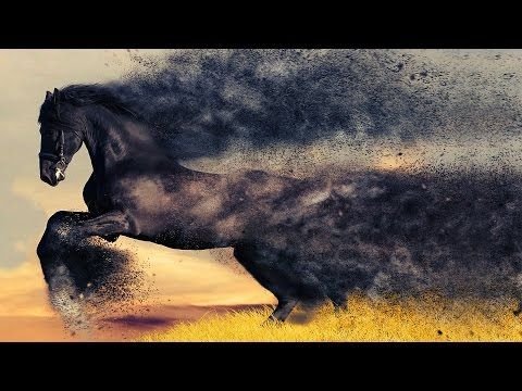 Photoshop Tutorial | Stunning Sand Storm Actions | How to Install and Use Actions | Tasty Tutorials