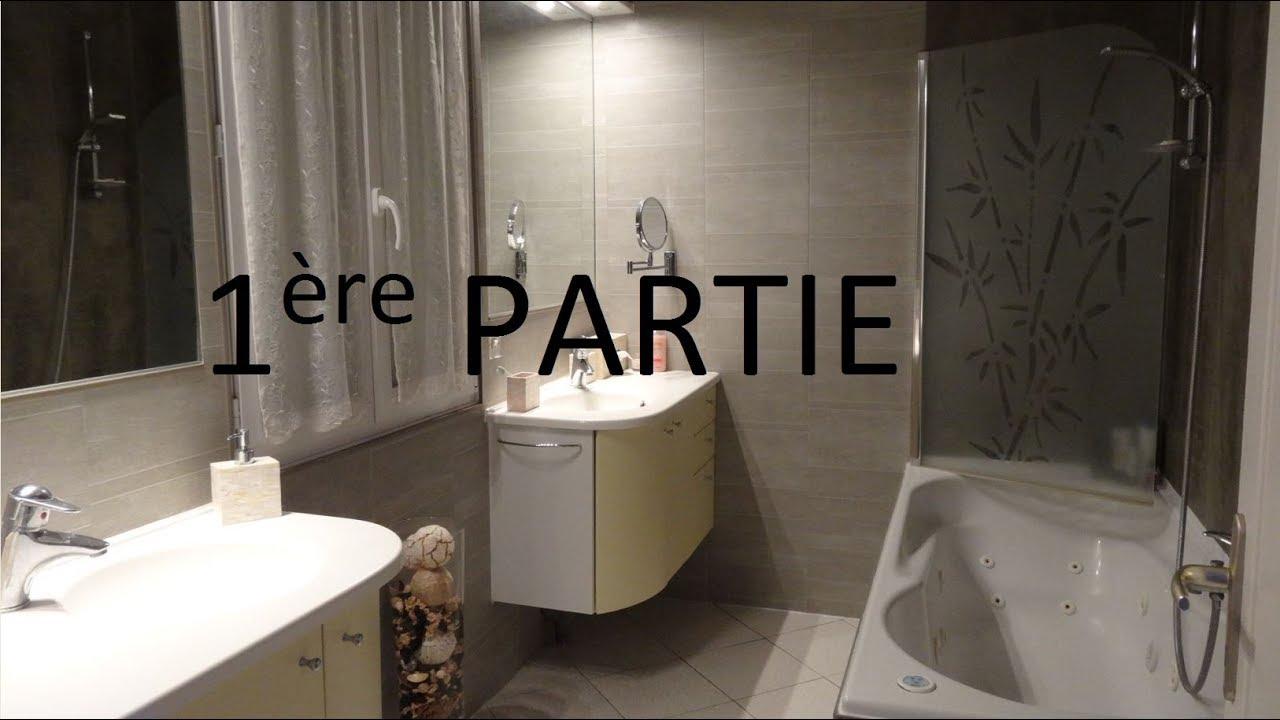 Poser Du Lambris Pvc Dans Une Salle De Bain Sans Colle Ou Presque Part1 Youtube