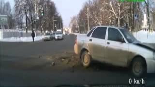 Зимние аварии 2013 года, подборка аварий зимой