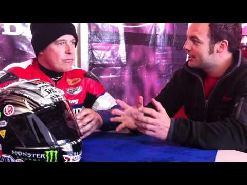Honda TT Legends - John McGuinness pre-race interv...