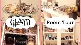 Beauty Room Tour 2015   Organization + Storage