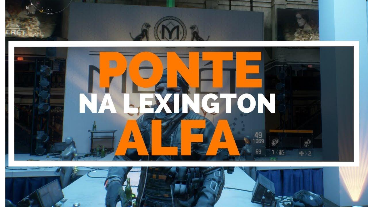 Skip The Games Lexington >> THE DIVISION-PONTE ALFA NA LEXINGTON-EG ASSALTO-XBOX ONE E PS4 - YouTube