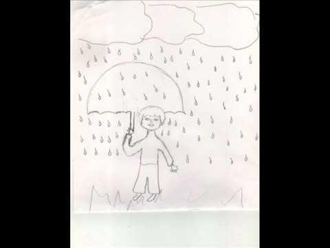 Persona bajo lluvia lectura gestaltica
