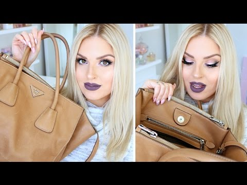 Whats In My Prada Bag?! ♡ Botox, Lube, Hairy Lashes & More!