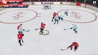 NHL 2K Quick Game on Android 2014