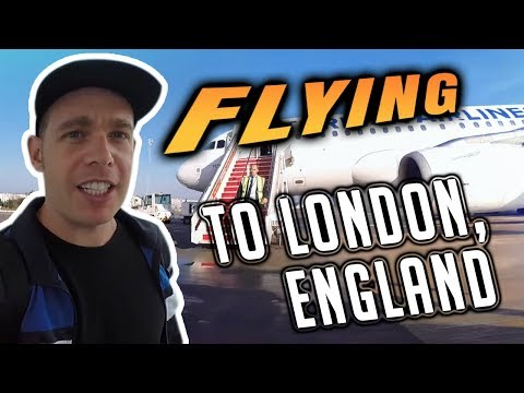 Flying To London, England