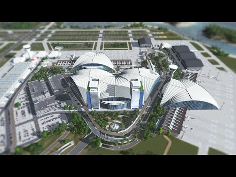 Cities Skylines - Rhinestone International Airport